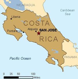 Costa Rica Cost Per Head