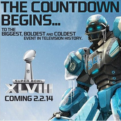 Superbowl XLVIII Countdown