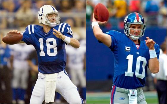 Peyton vs Eli Manning