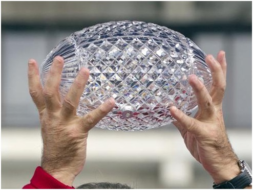 BCS Crystal Football