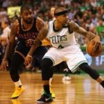 kyrie irving and Isiah Thomas NBA 2017