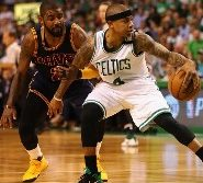 kyrie irving and Isiah Thomas NBA 2017