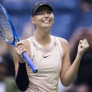 maria sharapova smiling 2017