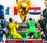 France vs Croatia FIFA World Cup Final