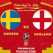 Sweden-vs-England World Cup 2018