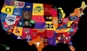 ncaa map us